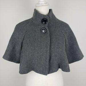 INC International Concepts Wool Gray Shrug